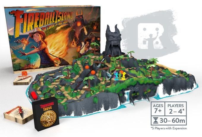 3 Reasons to purchase the original Fireball Island board game