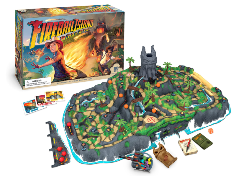 Everything you need to know about the Fireball Island Game