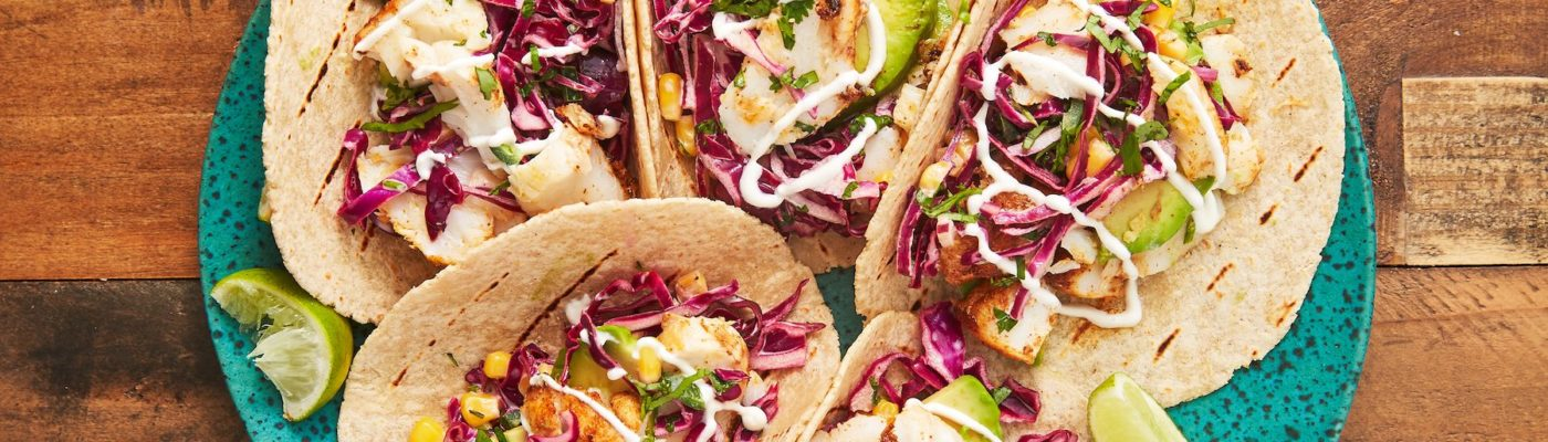 Fish Tacos Recipe with Best Fish Taco Sauce!